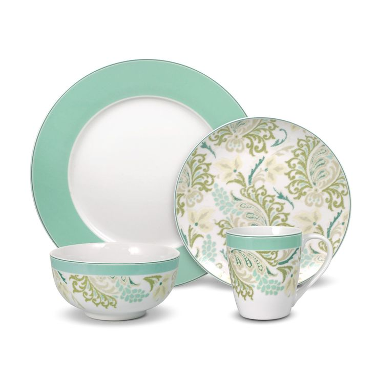 Porcelain, Earthenware, & Stoneware Dinnerware Sets for 12 ...