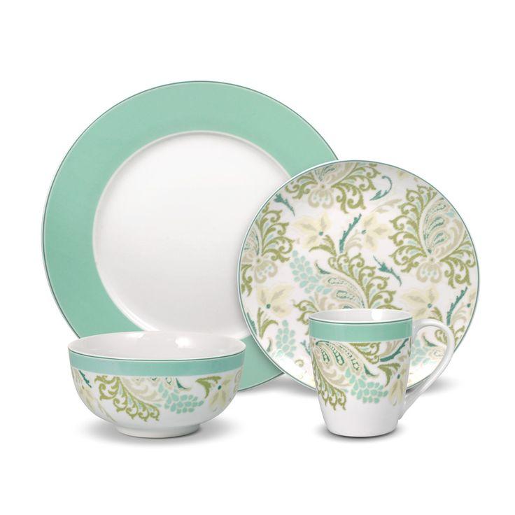 Porcelain, Earthenware, & Stoneware Dinnerware Sets for 12 ...