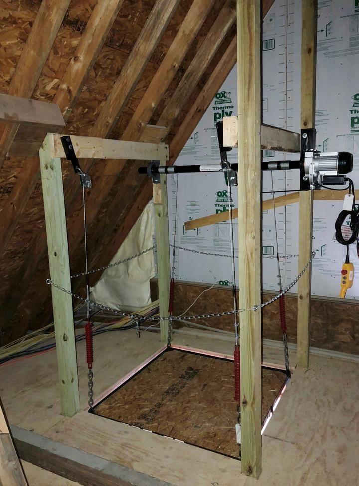500 Lbs Post Style Lift Garage Decor Garage Storage Garage Lift