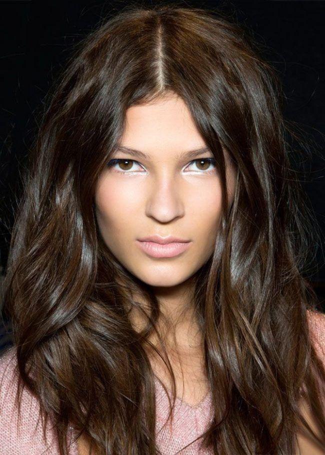 Красивый шоколадный цвет волос (50 фото) — Темные и светлые оттенки