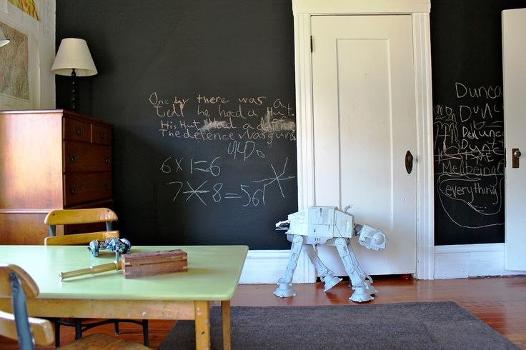 Cool Chalkboard Ideas For Kids Room - Real House Design