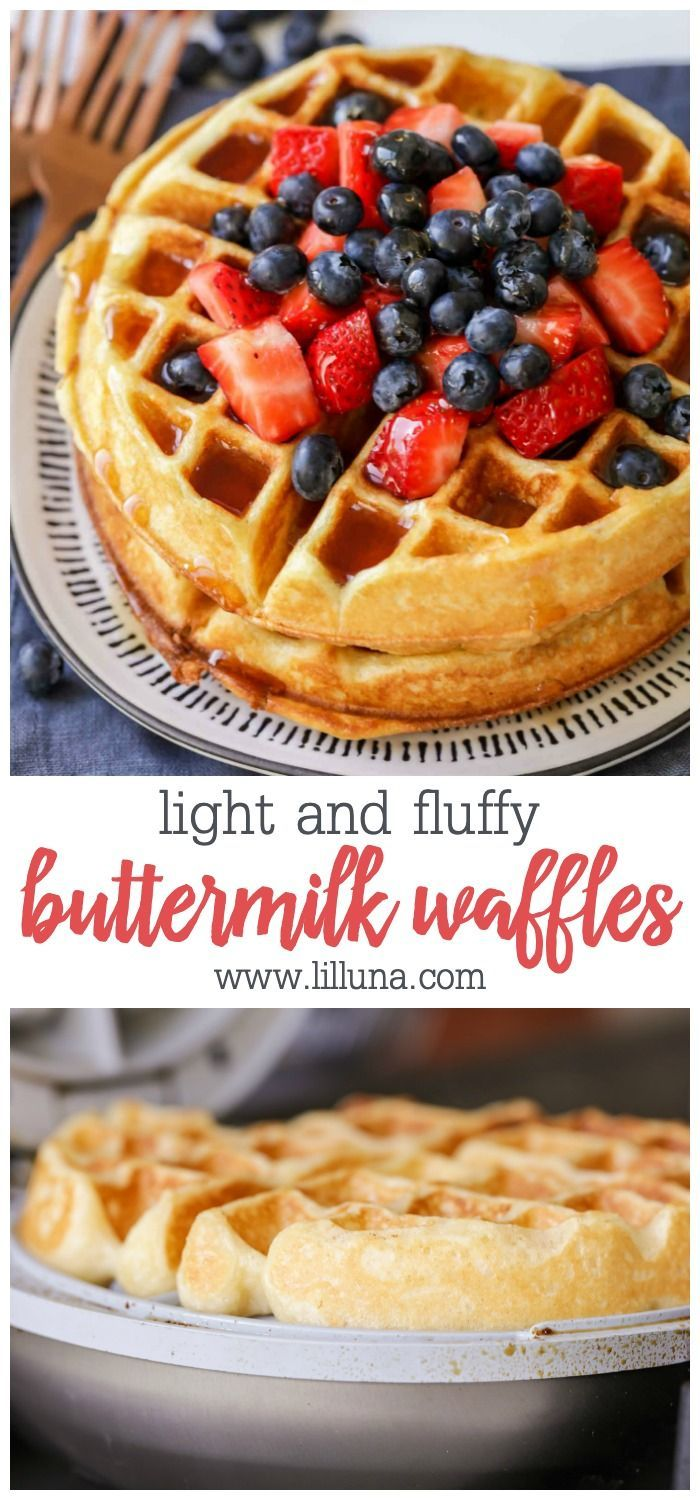 Buttermilk Waffle Recipe With Images Waffles Recipe Homemade Buttermilk Waffles Best Waffle Recipe