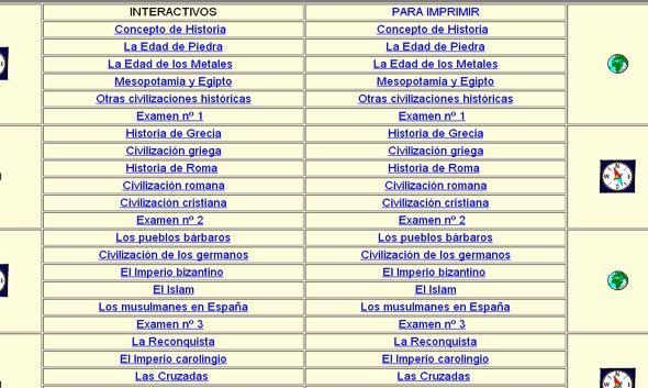 """En el marco de nuestra sección """"Desde Internet"""", les presentamos una página web que posee una serie de sencillos recursos digitales sobre distintos períodos de la historia universal. Son recursos hipertextuales con sencillas interacciones mediante test y que están destinados a la enseñanza básica, con un foco curricular desde la mirada española pero que son …"""