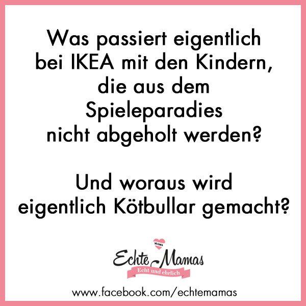 Mama Sprüche für echte Mamas. Lustige Sprüche und immer was zu lachen. www.echtemamas.de