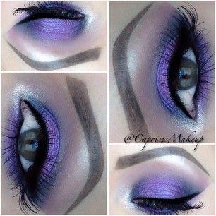 Soft purple eye #makeup