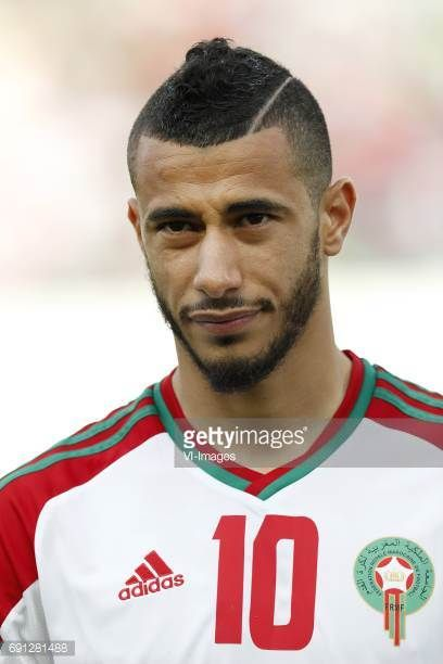 Younes Belhanda of Moroccoduring the friendly match between Morocco and The Netherlands at Grand Stade Adrar on May 31 2017 in Agadir Morocco