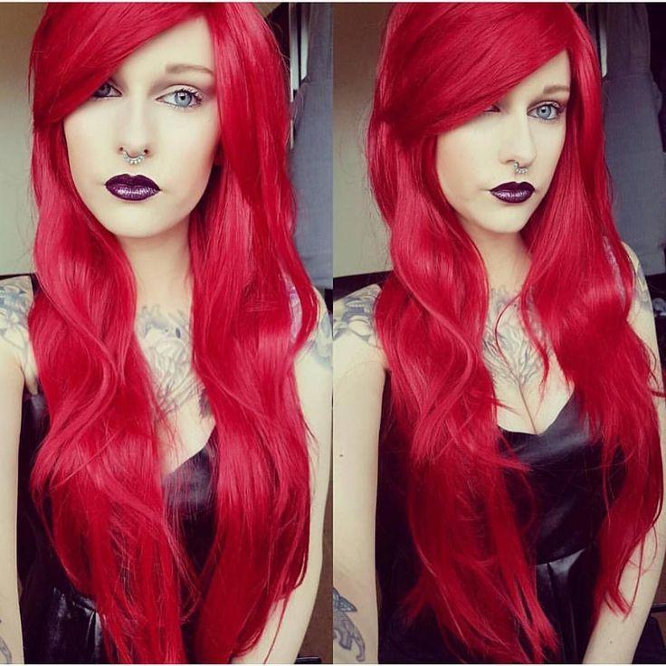 @raeinsane #slaying in Lush style: Cherry Lipgloss  Thank you.  #lushwigs #wig #redwig #syntheticwigs #lushwigscherrylipgloss #redwig #redhair  Lushwigs.com (link in bio)