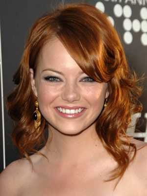 Emma Stone Hairstyles - April 27, 2008 - DailyMakeover.com