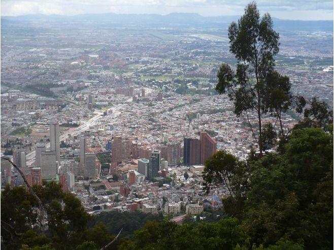Серро-де-Монтсеррати, Богота, Колумбия
