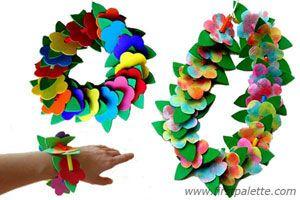 Hula Lei craft