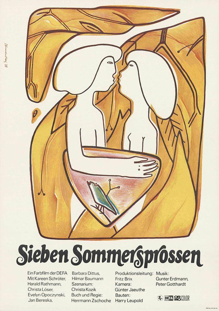 Sieben Sommersprossen, (Sette lentiggini), 1978. - (Regine Blumenthal, Defa-Stiftung/Werner Bergmann)