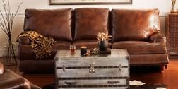 Kingsway-Power Leather Reclining Sofa by One80 from Value City Furniture $1,259.99 (10% Off) -