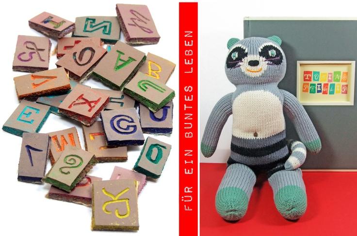 Linocut alphabet stamps - baby photo album DIY: Blog Diy, Linocut Alphabet, Baby Photo Albums, Album Diy, Baby Photos Album