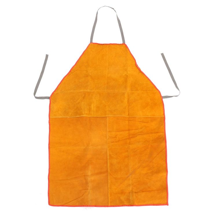 Safurance Welders Welding Apron Chrome Leather Tan Heavy Duty Blacksmith Workplace Safety Safety Clothing Self Protect #Affiliate