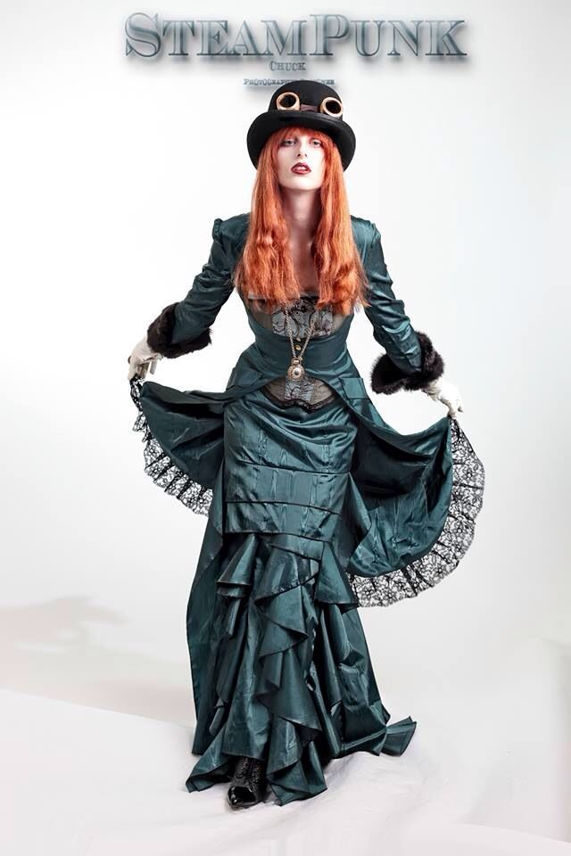Steampunk Chuck clothing and photography can be found at FB/cciphotog