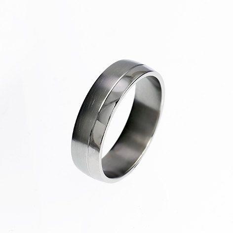 palladium ring wedding band rings for men mens wedding band palladium wedding modern commitment ring men palladium band - Mens Platinum Wedding Rings