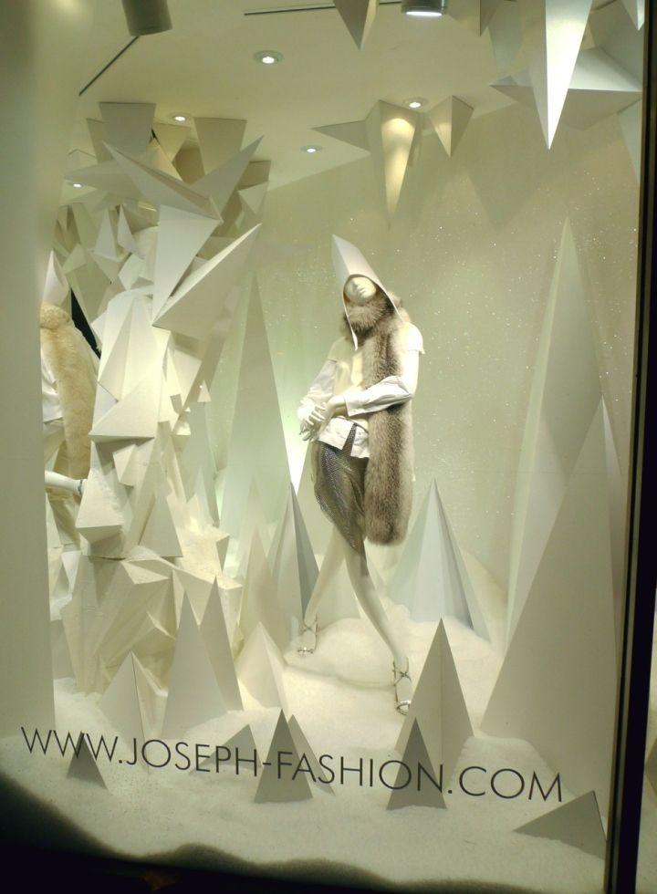 Joseph Fashion Christmas window 2014, London – UK » Retail Design Blog