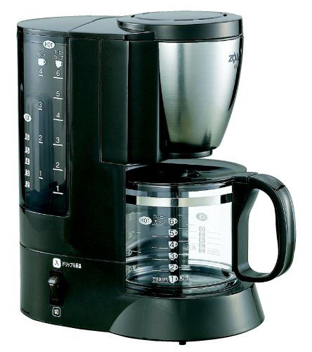 ZOJIRUSHI coffee maker coffee experts [Cup approximately 1 ~ 6 tablespoons: Stainless EC-AJ60-XJ Brown - http://teacoffeestore.com/zojirushi-coffee-maker-coffee-experts-cup-approximately-1-6-tablespoons-stainless-ec-aj60-xj-brown/