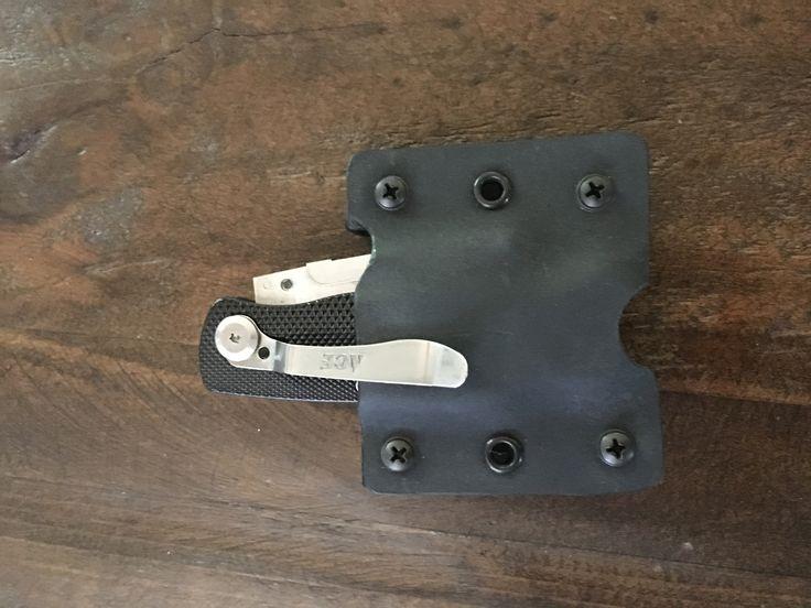 Kydex by Grey razor knife belt pouch