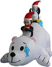 """Spruce up your outside with these Inflatable Christmas Decorations. You will also impress your neighbors and have people driving by your house """"oohing"""" and """"ahing"""" about your Christmas decorations."""