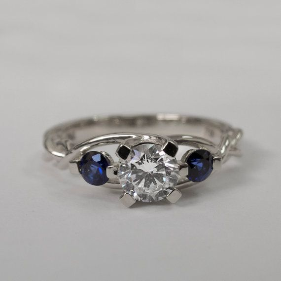 Hey, I found this really awesome Etsy listing at https://www.etsy.com/listing/206236419/braided-engagement-ring-diamonds-and