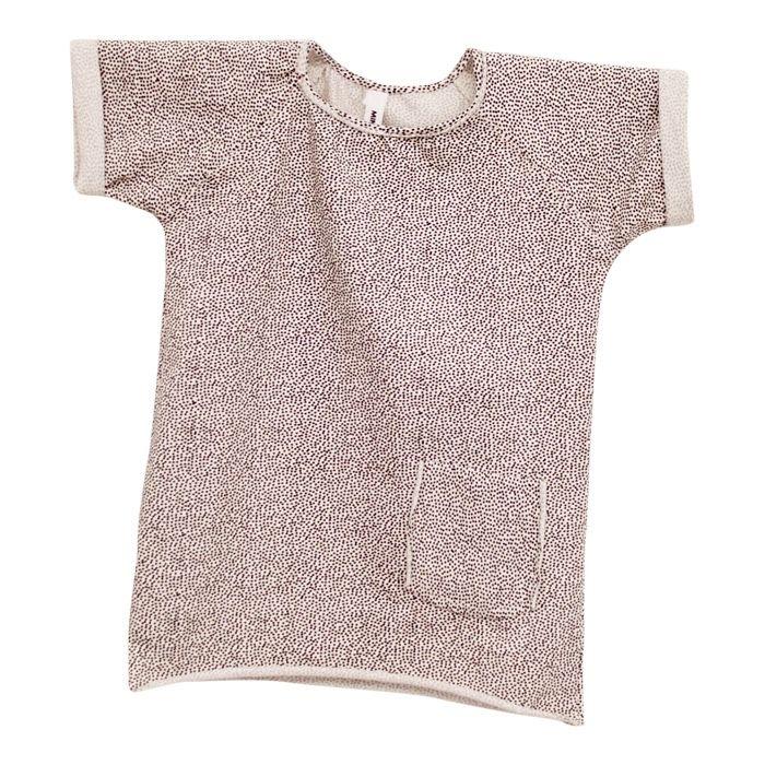 Lækker bluse fra mingo - med søde prikker str. 98