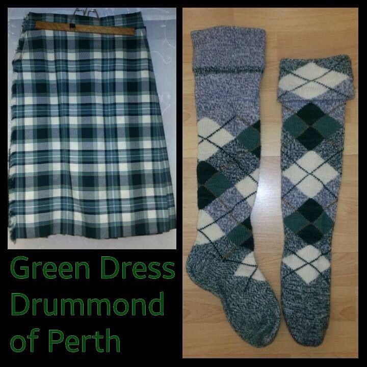 Green Dress Drummond of Perth 14yrs +
