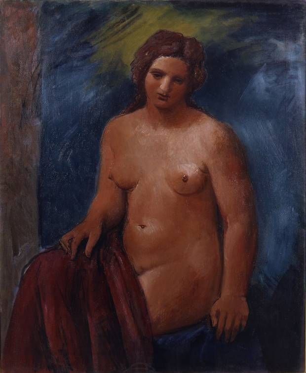 Melancholy, Achille Funi (Ferrara 1890 - Appiano Gentile 1972) 1930 oil on - The Independent