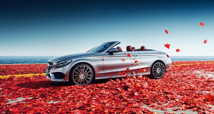 The new Mercedes-Benz C-Class Cabriolet (A 205) during Indian Summer.