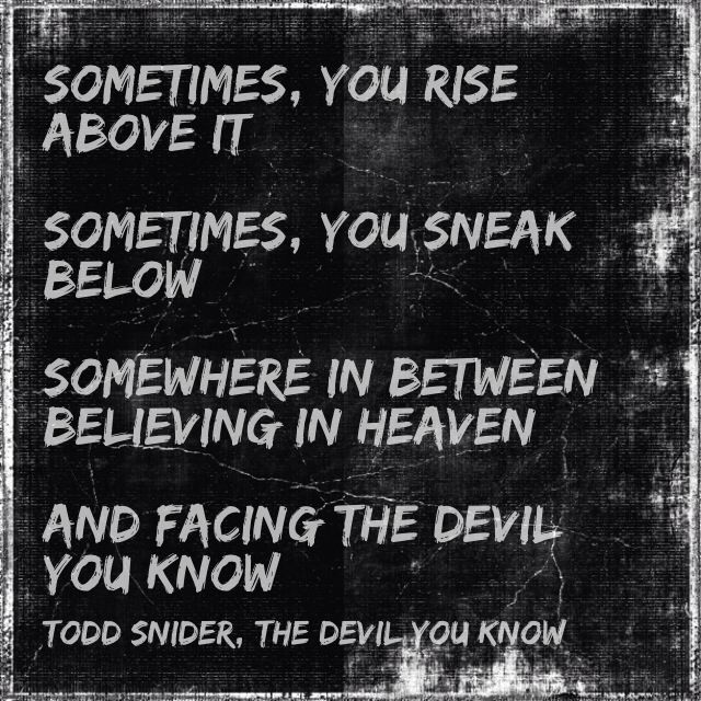 Todd Snider - (The Devil You Know)