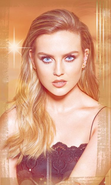 """Little Mix for """"Gold Magic"""" - Perrie."""