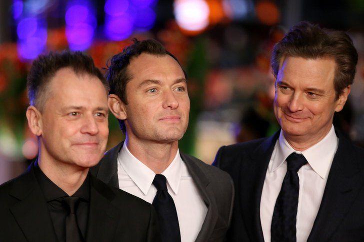Michael Grandage, Jude Law, and Colin Firth