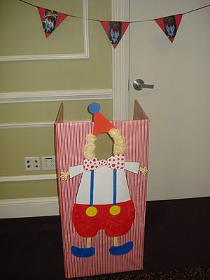 Kids party---photo Booth or Bean Bag Throwing