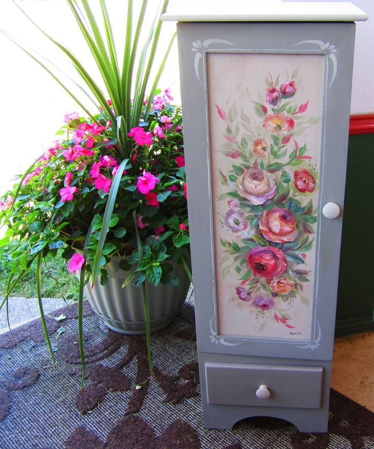342 Best Decoupage/Painted/Wallpaper Furniture U0026 Things Images On Pinterest  | Painted Furniture, Furniture Ideas And Decoupage Furniture