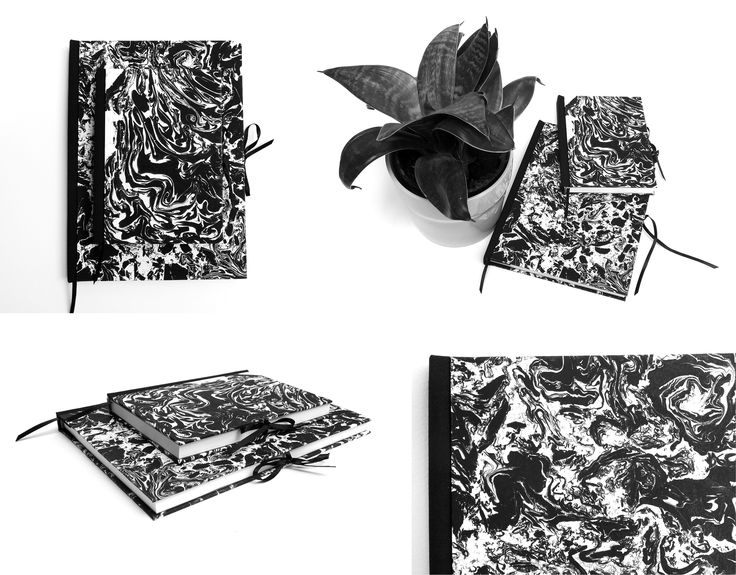 Suminagashi Books | Raven-Tailor Art Products