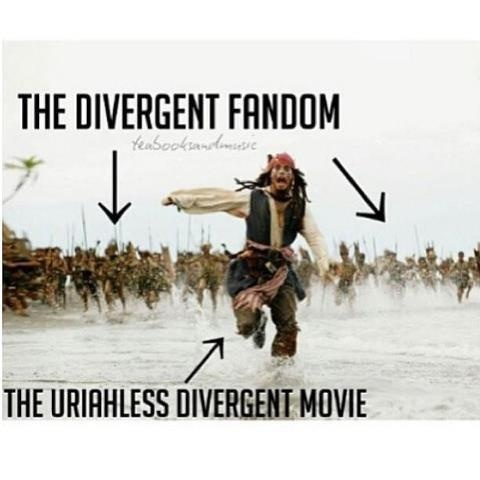 So, So true.<<<< Yeah and he was barely in insurgent.
