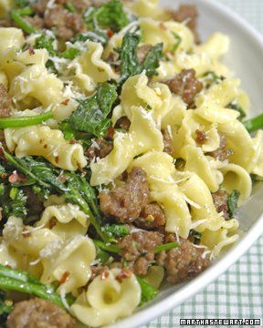 Pasta with Broccoli Rabe and Sausage