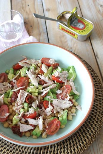 Francesca Kookt_Salade met tonijn, avocado en kikkererwten_2