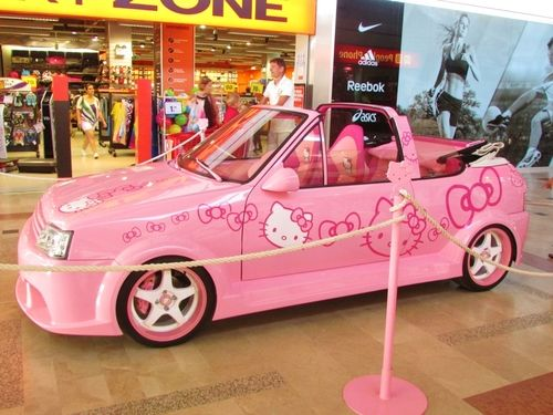 6 Hello Kitty Tumblr Pink Love Ya Pinterest Car And