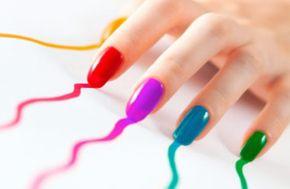 Uñas con esmaltes permanentes enwww.topnails.cl FONO: 94243426