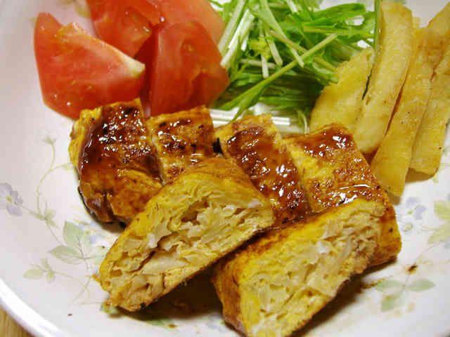 お弁当に♪キャベツオムレツの画像
