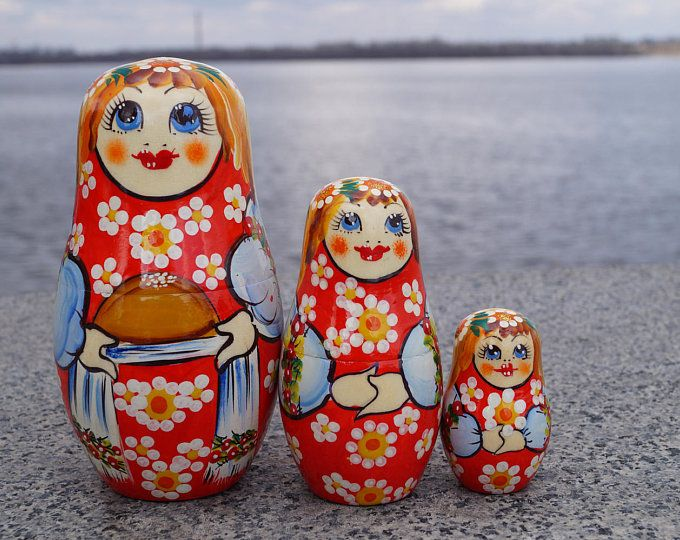 Russian doll babushka doll matryoshka doll russian doll