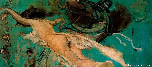 Ignacio Pinazo Camarlench (Valencia, 1849 – Godella, 1916) desde muy joven tuvo que esforzarse por contribuir a la economía familiar trabajando de platero, decorador de azulejos, y pintor de abanicos, e incluso cuando empezó en 1864 sus estudios de arte en la Academia de Bellas Artes de San Carlos (Valencia), se ganaba la vida trabajando de sombrerero. Era por tanto, una persona acostumbrada al esfuerzo, con tesón... #arte #bellasartes #cultura #ocio #olemiarte#españa #valencia