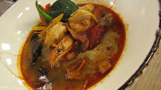 TOM YAM GUNG - Tradičná thajská kyslo-pikantná polievka | Varený-pečený