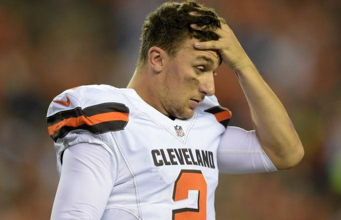 Johnny Manziel Downgraded to QB No. 3 After Yet Another Party Video - http://movietvtechgeeks.com/johnny-manziel-downgraded-to-qb-no-3-after-yet-another-party-video/-v