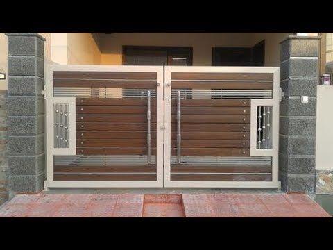 Modern Gate Design in 2020 | Front gate design, House gate ... on New Get Design  id=74393