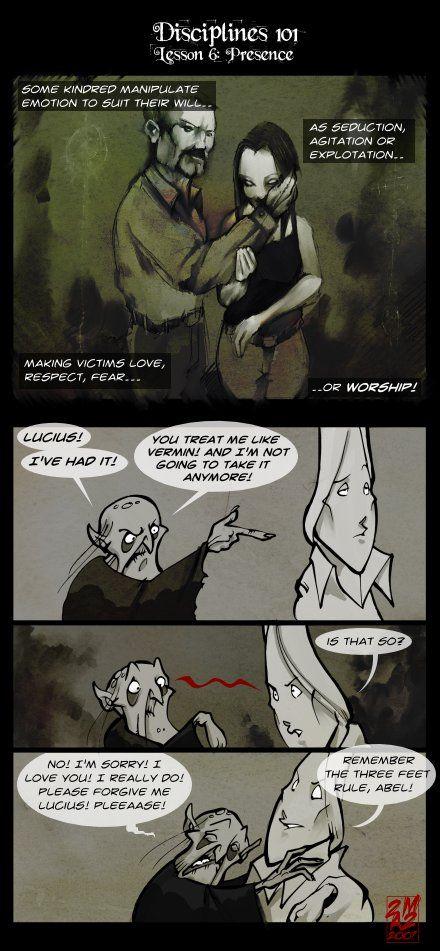 Vampires Suck - (60) Disciplines 101: Presence
