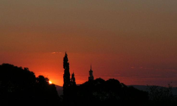 Sunset in Pretoria, South Africa