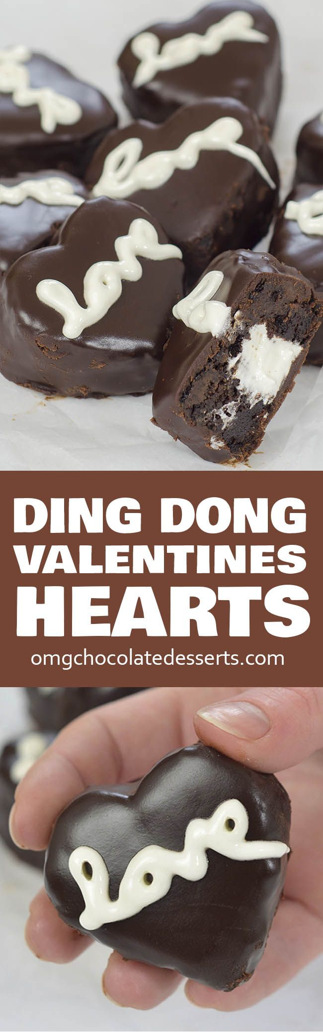 Valentines Chocolate Hearts is perfect dessert idea for your Valentines celebration.