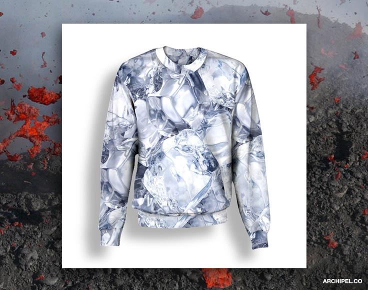 Lava Jacket :D Love IT  http://studio.archipel.co/  Ice